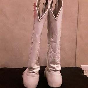Kenny Rogers cowgirl boots